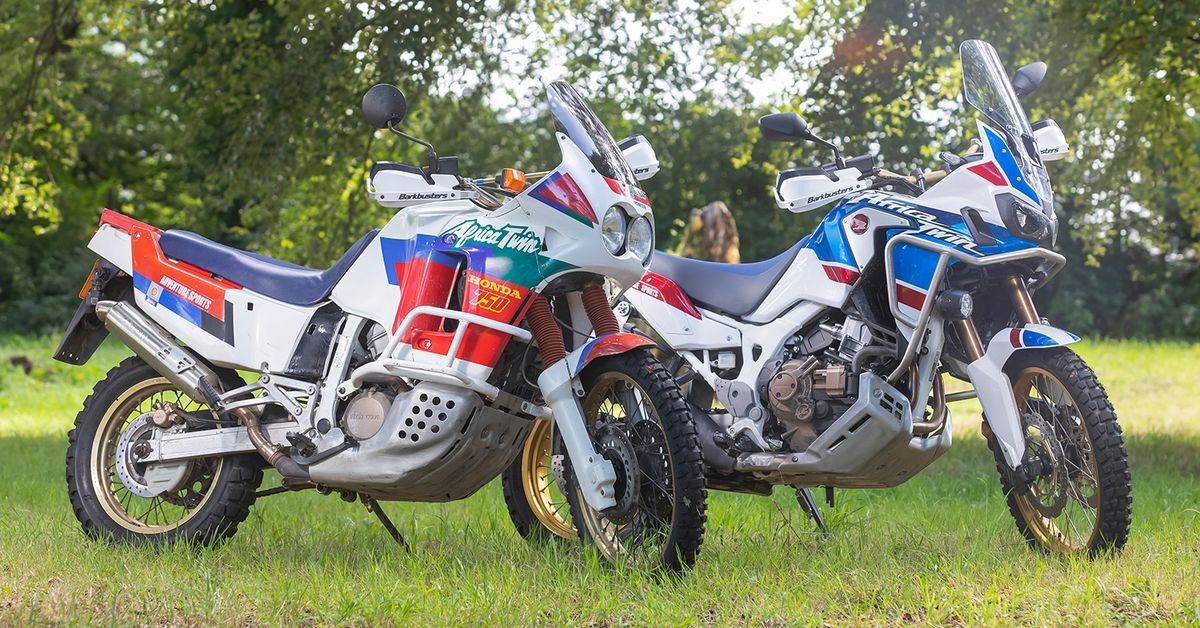 Africa Twin: Old vs. New