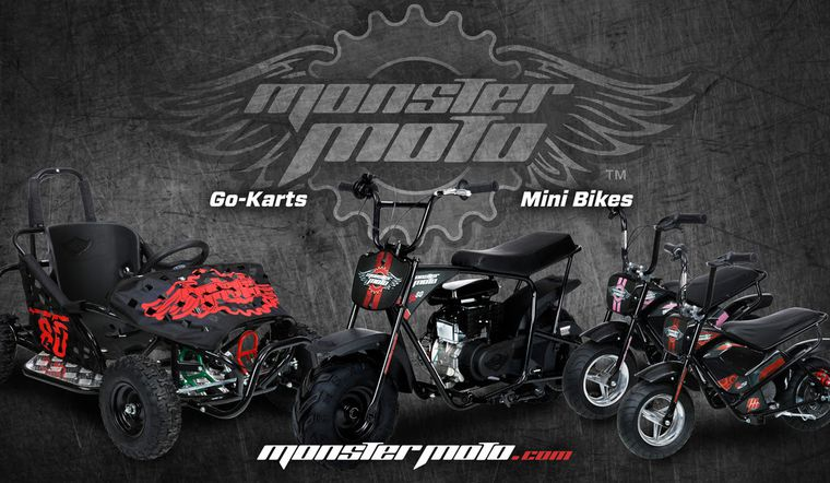 Monster Moto Mini Bikes And Go Karts Are The Perfect Gift