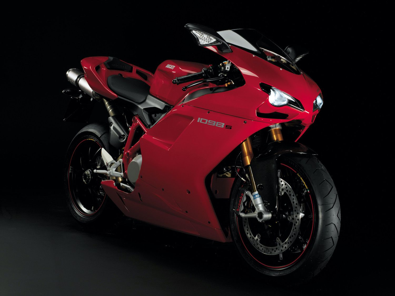 "Winning look: In 2007, the Motorcycle Design Association said, ""The Ducati 916 was a tough act to follow."" While the 999 ""bravely broke away from being just a face-lift…the 1098 promises to give Ducatisti the best of both worlds."""