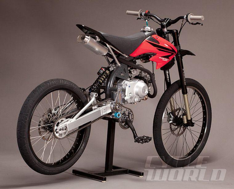 Motopeds Mountain Bike Moto Hybrid Conversion Kits Cycle World