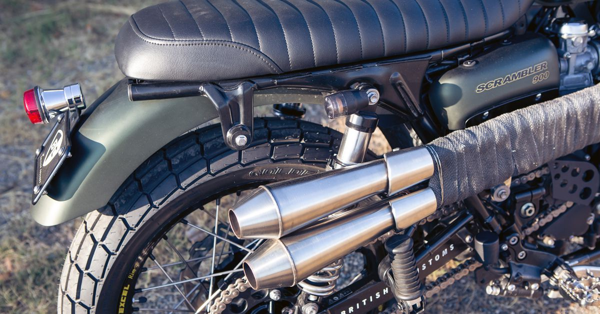 HEAVY-DUTY BIKE MOTORCYCLE COVER Triumph THRUXTON 900