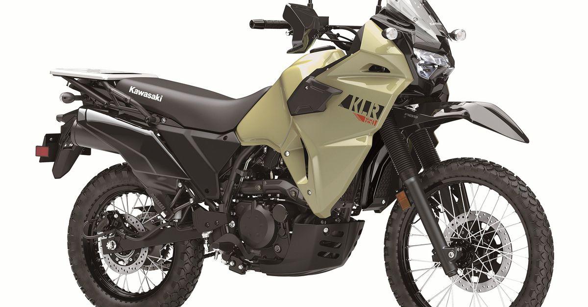 Kawasaki KLR650 2022 года Первый взгляд