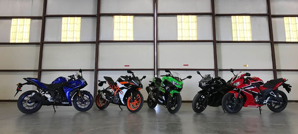 Which Small Sportbike Should You Buy In 2018?   Cycle World