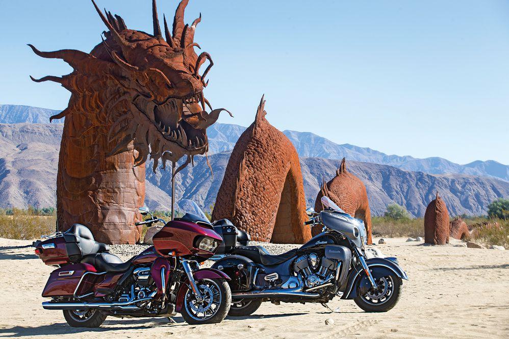 Harley-Davidson Road Glide Ultra vs  Indian Roadmaster