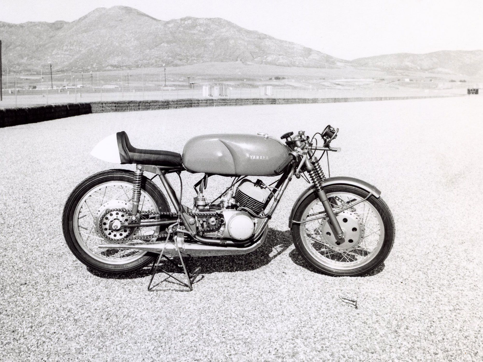 As the US motorcycle market in the late '60s exploded, Japanese motorcycles rose to the top. Yamaha's TD-1 was one of the first to be competitive with the English and American racers.