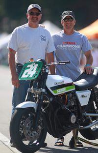 chris carr and nick ienatsch at barber motorsports park