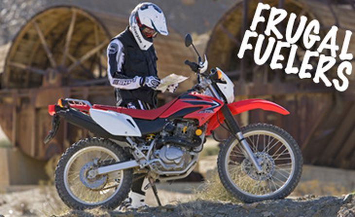 Phenomenal Frugal Fuelers Honda Crf230L First Look Cycle World Gmtry Best Dining Table And Chair Ideas Images Gmtryco
