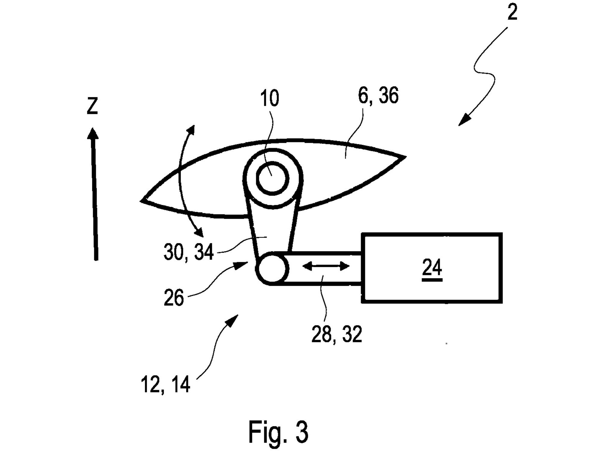 One of the patents shows a simple single actuator working on the winglet to change its angle.