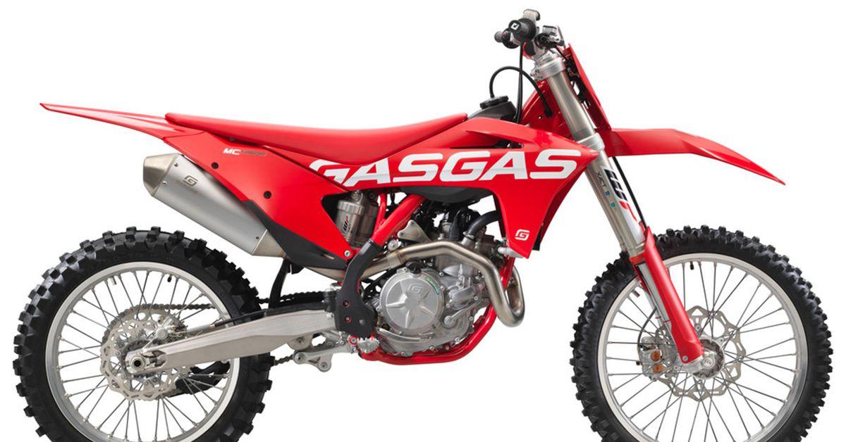 2021 ГазГаз MC 450F