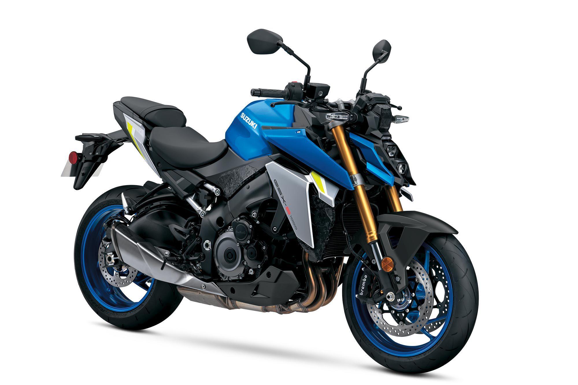 2022 Suzuki GSX-S1000 (Metallic Triton Blue).