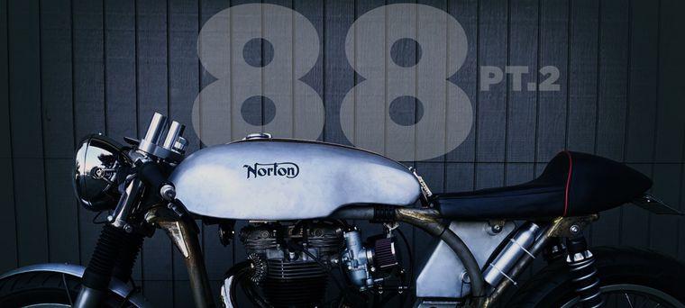 Resurrecting A 1953 Norton Dominator 88 - Part 2 | Cycle World on