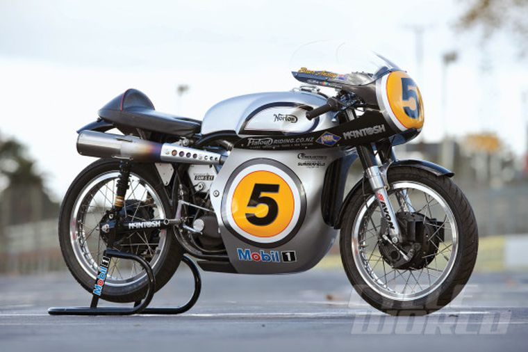 Paradox Force: The Fastest Norton Manx Ever to Lap the Isle