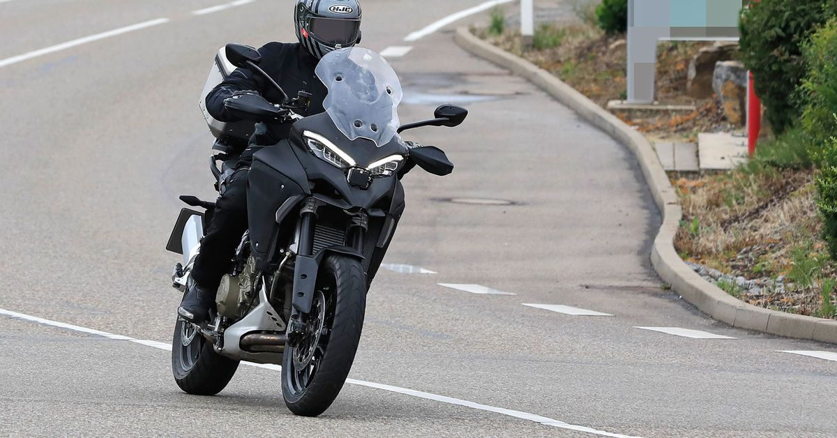 Spied Again: Ducati Multistrada V4