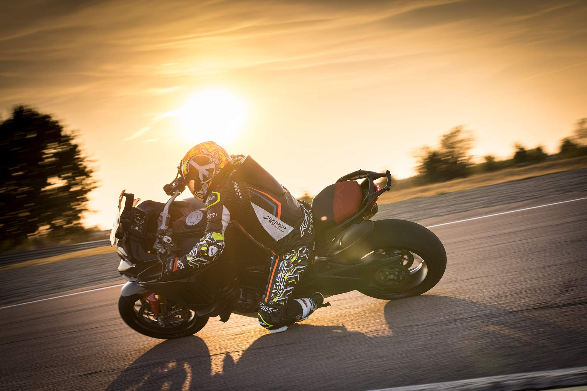 Ducati wouldn't share any numbers or specs on the upcoming Pikes Peak, but we left the racetrack impressed with its performance.