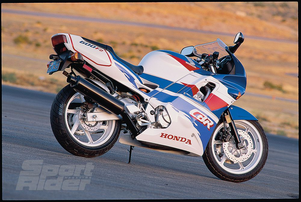 Great Sportbikes of the Past: 1991-1998 Honda CBR600F2-F3 - The