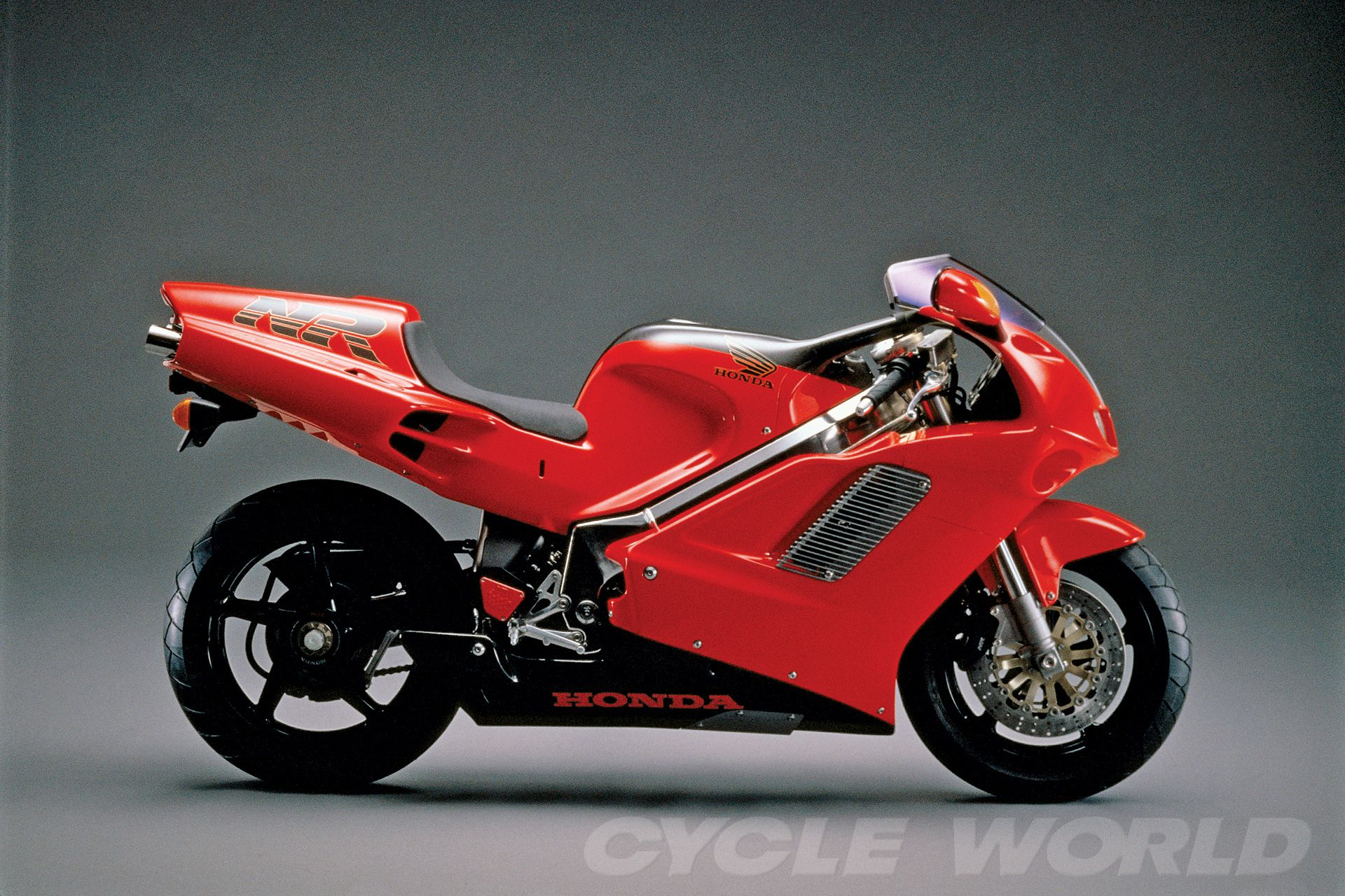 Hard to believe the $60,000 oval-piston 1992 Honda NR750 wasn't just a concept bike.
