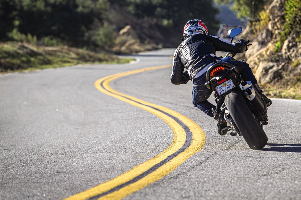 Ducati Monster 1200 S in its natural habitat. It is the best performer of the group.