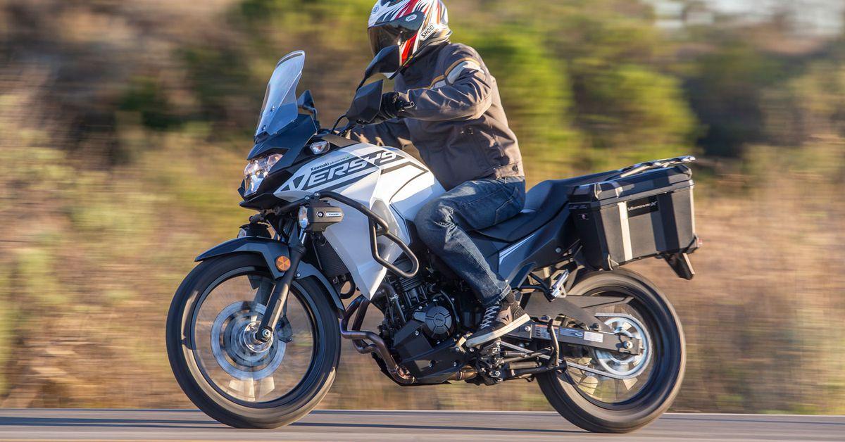 Обзор первой поездки Kawasaki Versys-X 300 2020 года