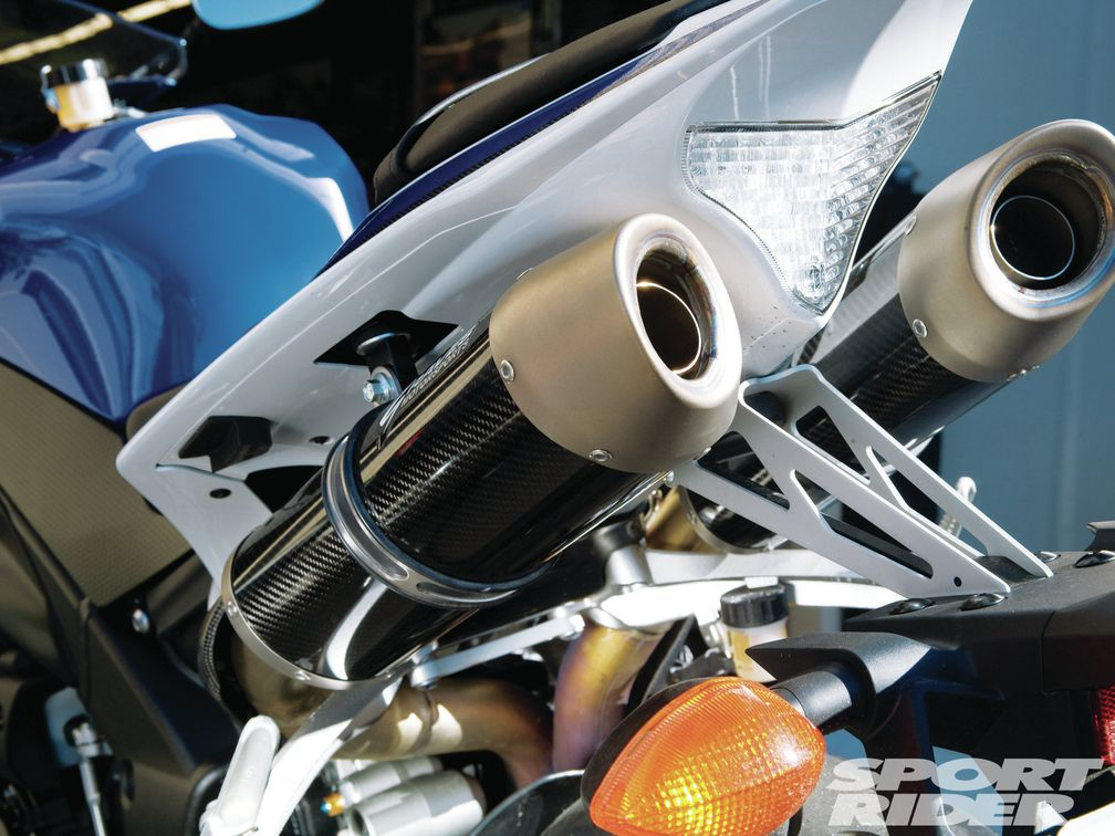 Yamaha Yzf R1 Graves Exhaust Power Commander V And Ecunleashed