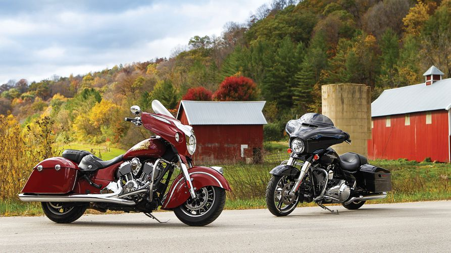 Indian Chieftain vs  Harley-Davidson Street Glide Special