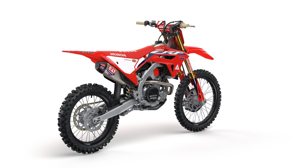 2021 Honda CRF450RWE.