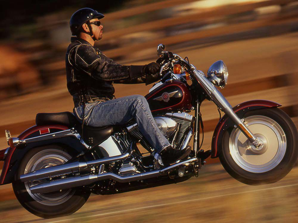 Riding Impression of the 2000 Harley-Davidson FXSTF Fat Boy Softail