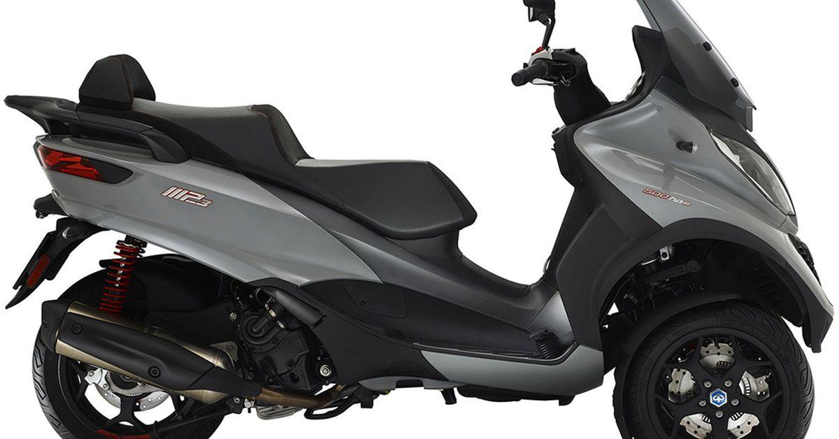 The 2019 Piaggio MP3 500 Sport Refines Three Wheels | Cycle