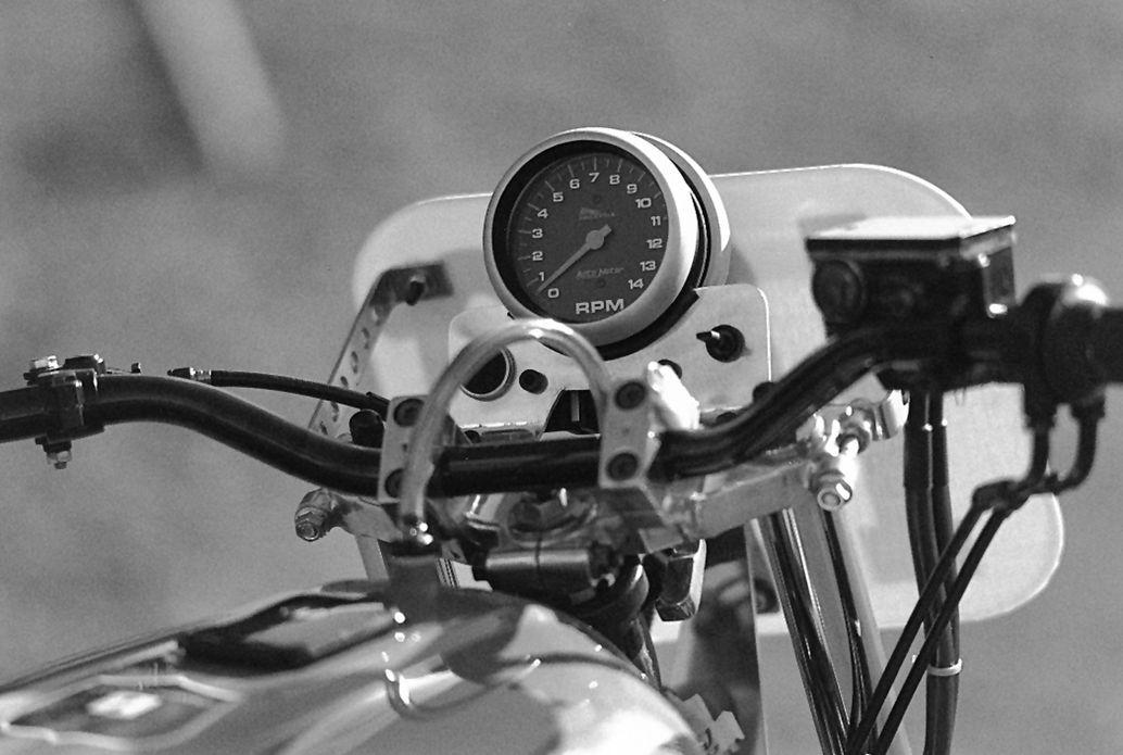Dave Turner's 1982 Kawasaki KZ1000R speedometer