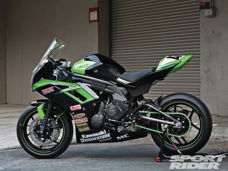 Kawasaki Ninja 650 Racebike Build Cycle World