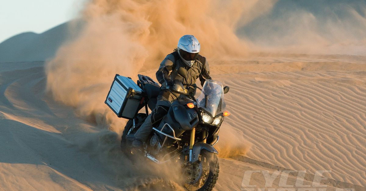 The South African Adventure Bike Magazine cover image