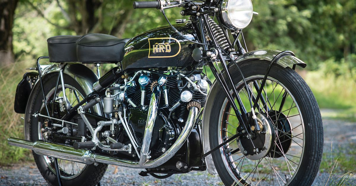 A Revisionist View Of Vincent Motorcycles