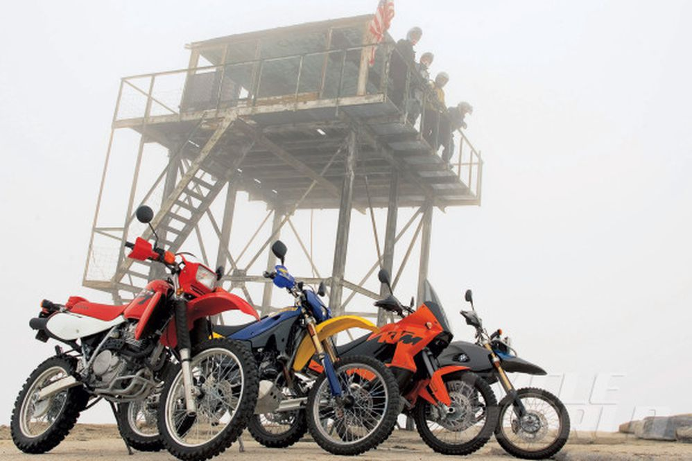 Dual-Sport Motorcycles Comparison Test Review   Cycle World