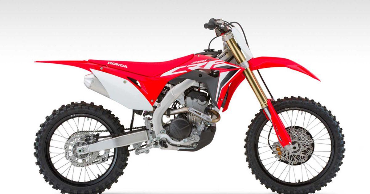 Honda CRF250R 2021 года
