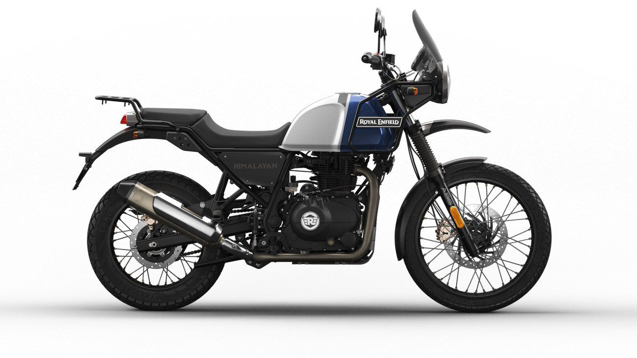 You can also have your new Himalayan in Lake Blue.