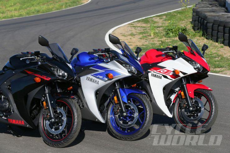 2015 Yamaha YZF-R3 group static