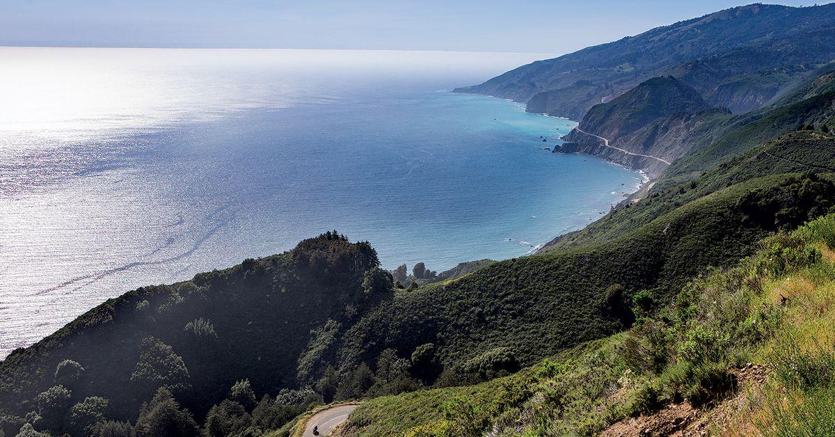 California's Central Coast On The 2019 BMW R 1250 RT