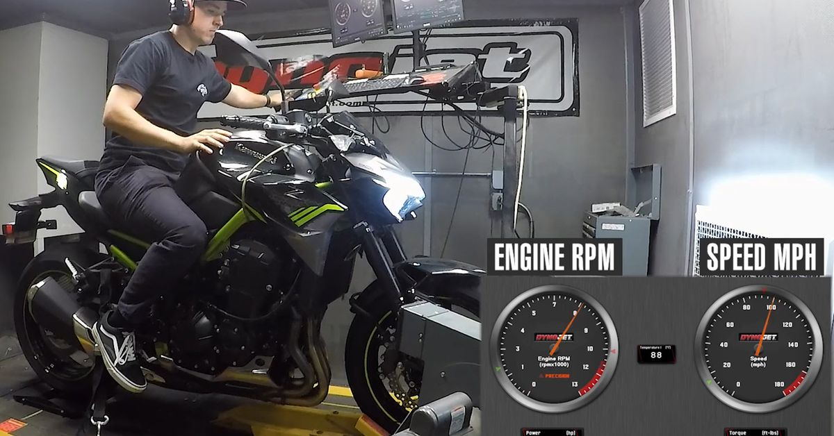 How Much Power Does The 2020 Kawasaki Z900 Make?
