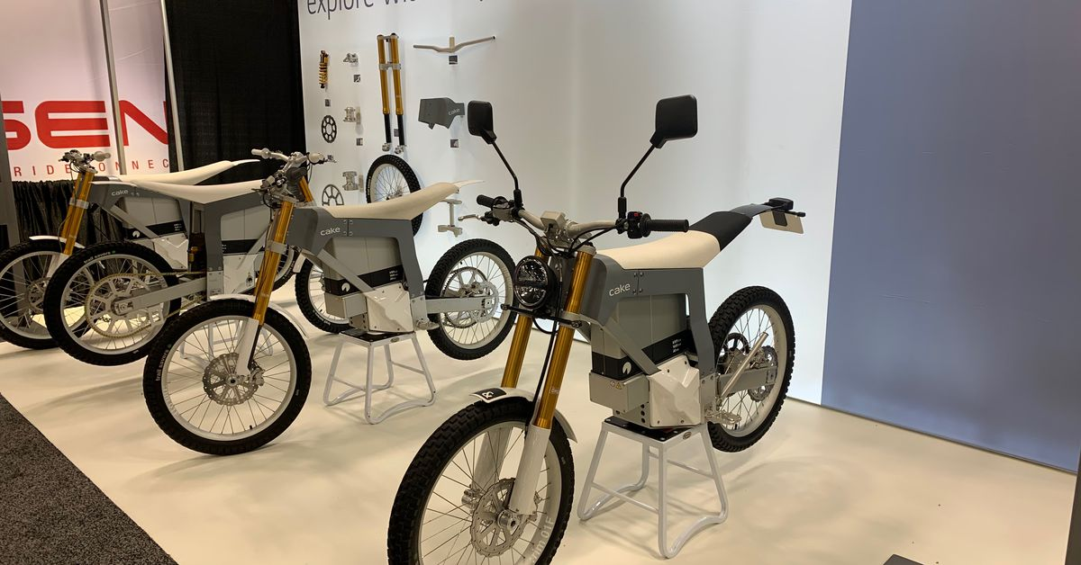 5 Fast Facts About The Cake E-Motorcycle