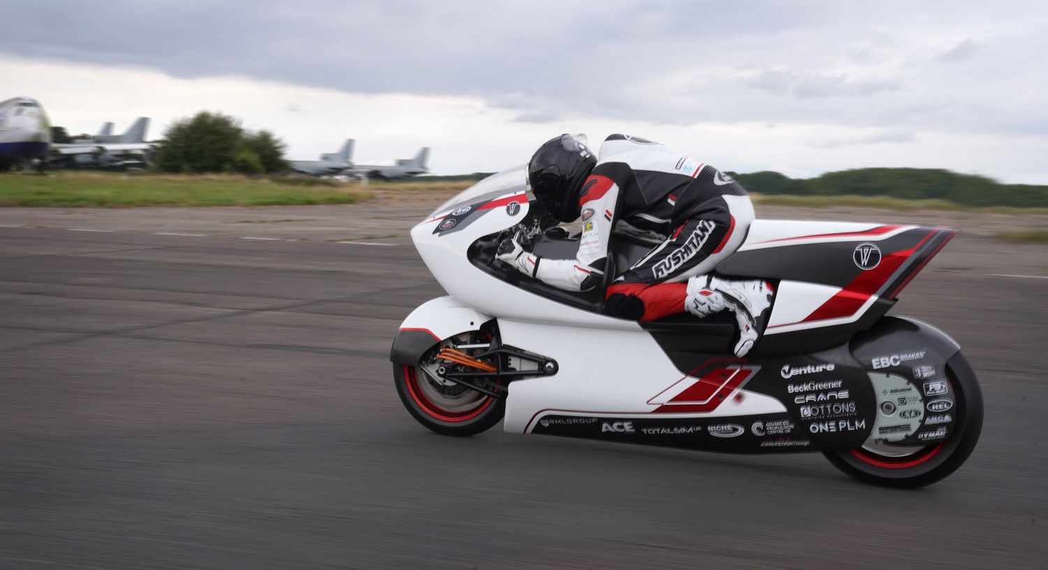 The WMC crew is targeting the current world record, which stands at 228.05 mph.