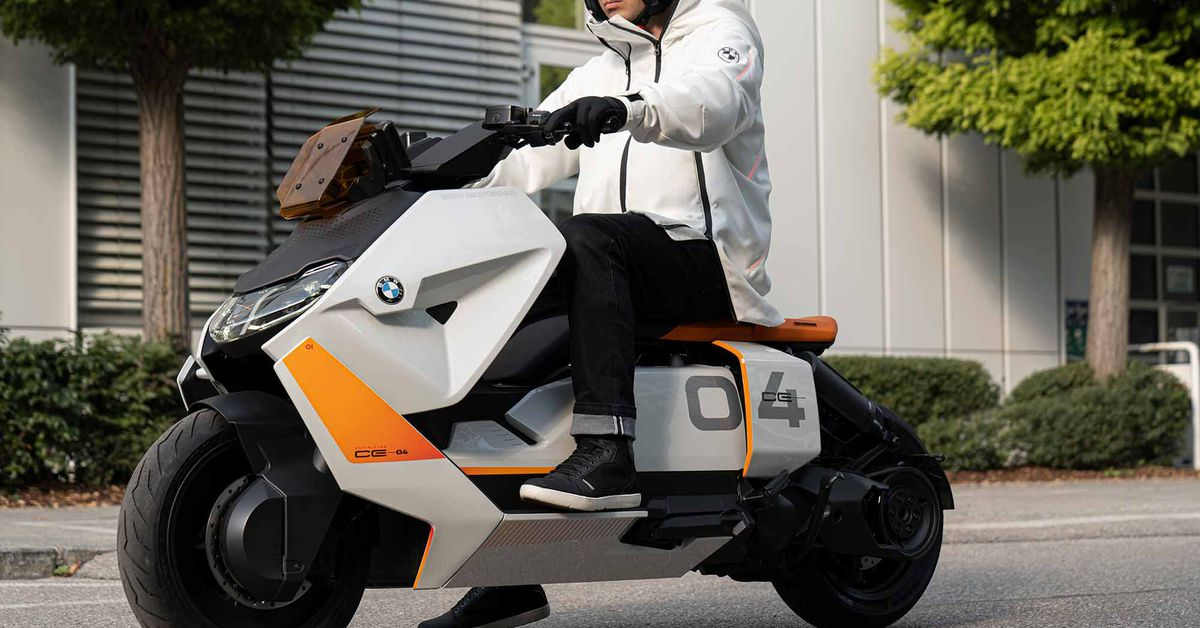 Bmw Definition Ce 04 Scooter Cycle World