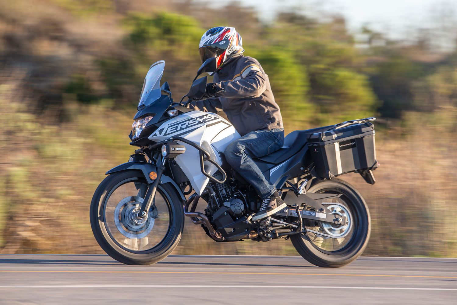 The Kawasaki Versys-X 300 offers beginner and more experienced riders an attainable adventure.