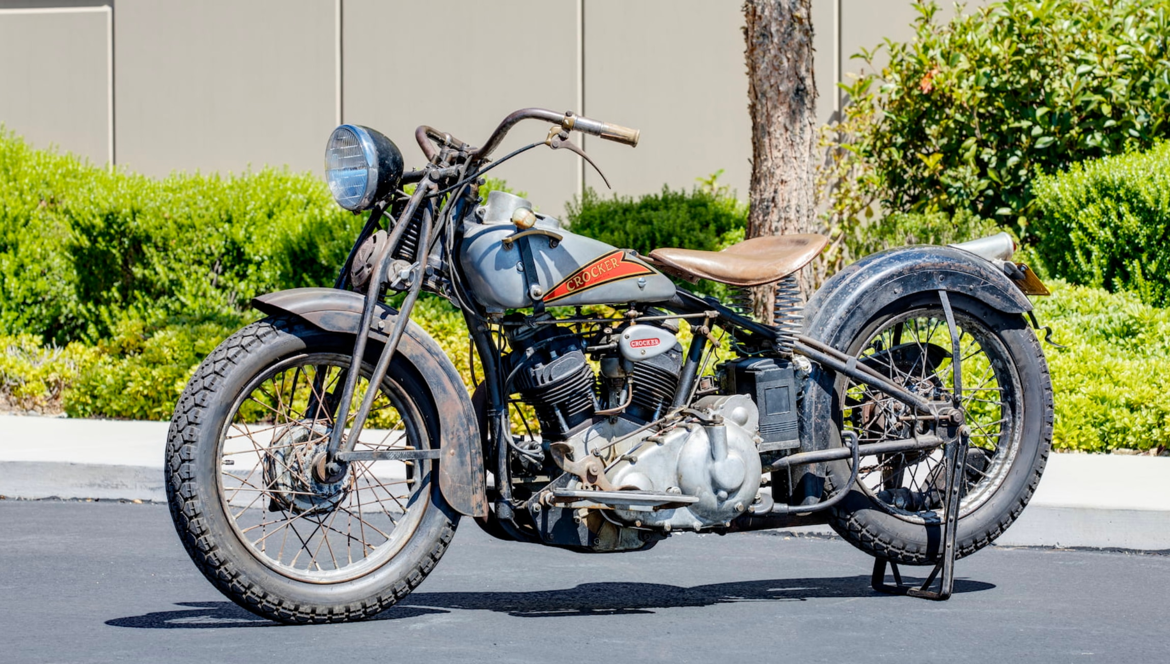 This bike is said to be unrestored, helping it achieve an amazing $825,000 at auction in 2019.