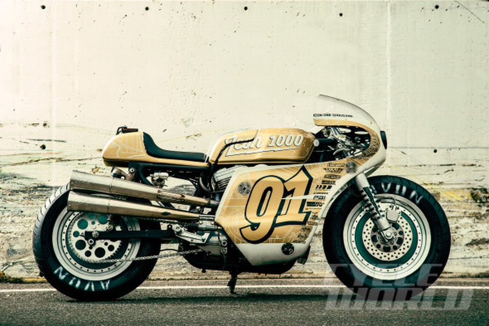 Icon 1000 Iron Lung Harley-Davidson Sportster Custom | Cycle