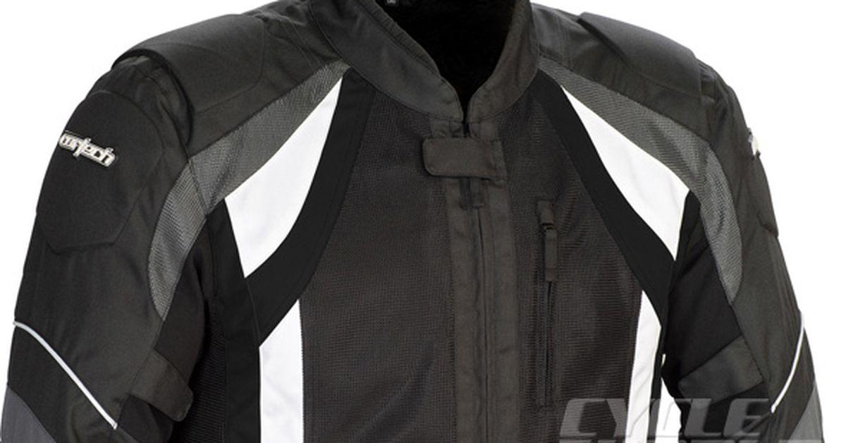 f010e20da CW EVALUATION: Cortech VRX Air Textile Jacket Motorcycle Gear Review ...