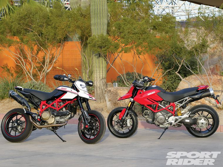 Admirable First Ride Ducati Hypermotard 1100 Evo Evo Sp Cycle World Onthecornerstone Fun Painted Chair Ideas Images Onthecornerstoneorg