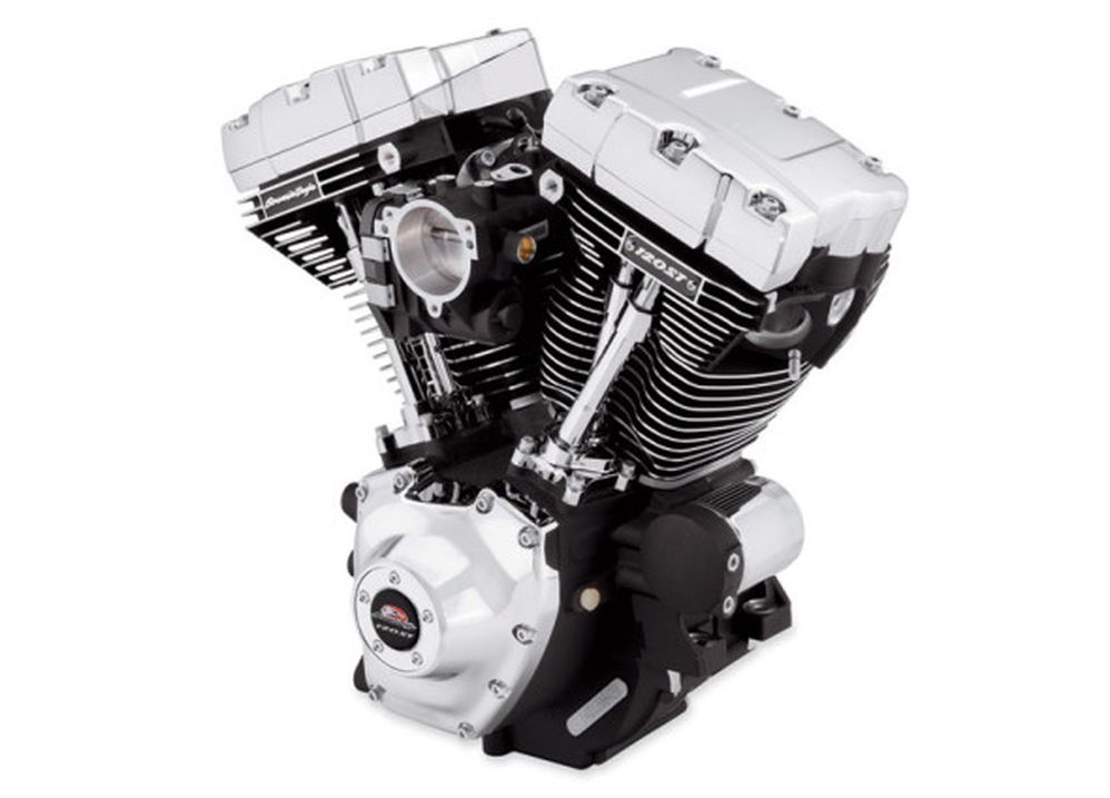Harley-Davidson Screamin' Eagle 120ST Crate Motor Delivers