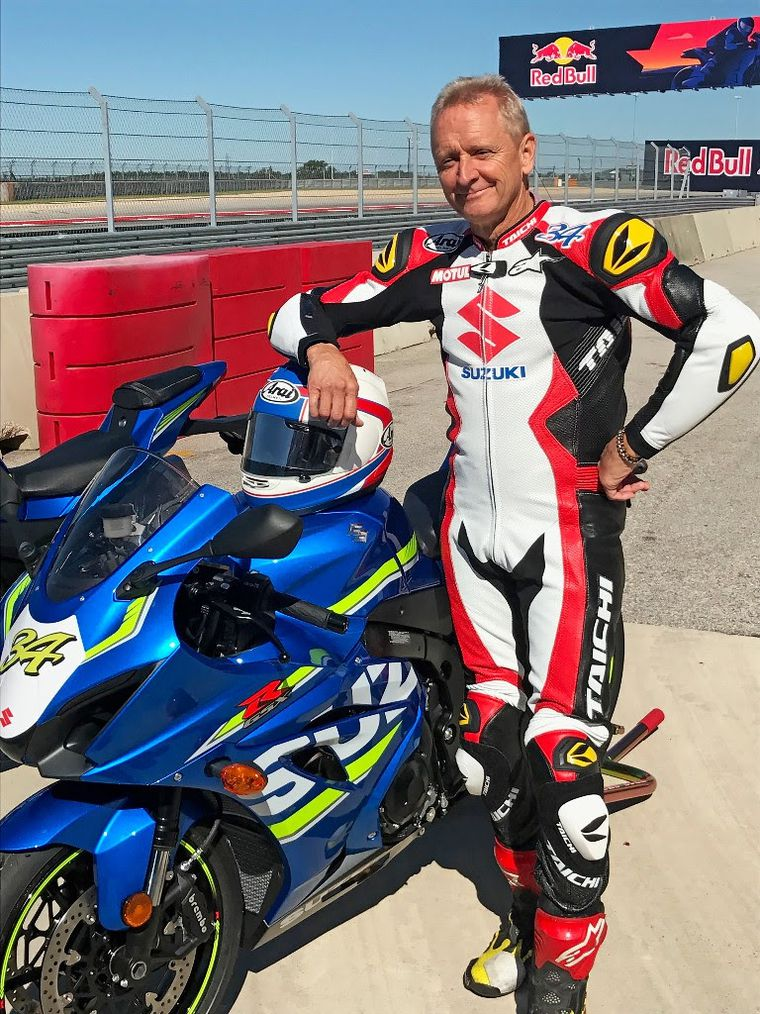 Kevin Schwantz Presented with All-New 2017 GSX-R1000 Serial Number 34 |  Cycle World