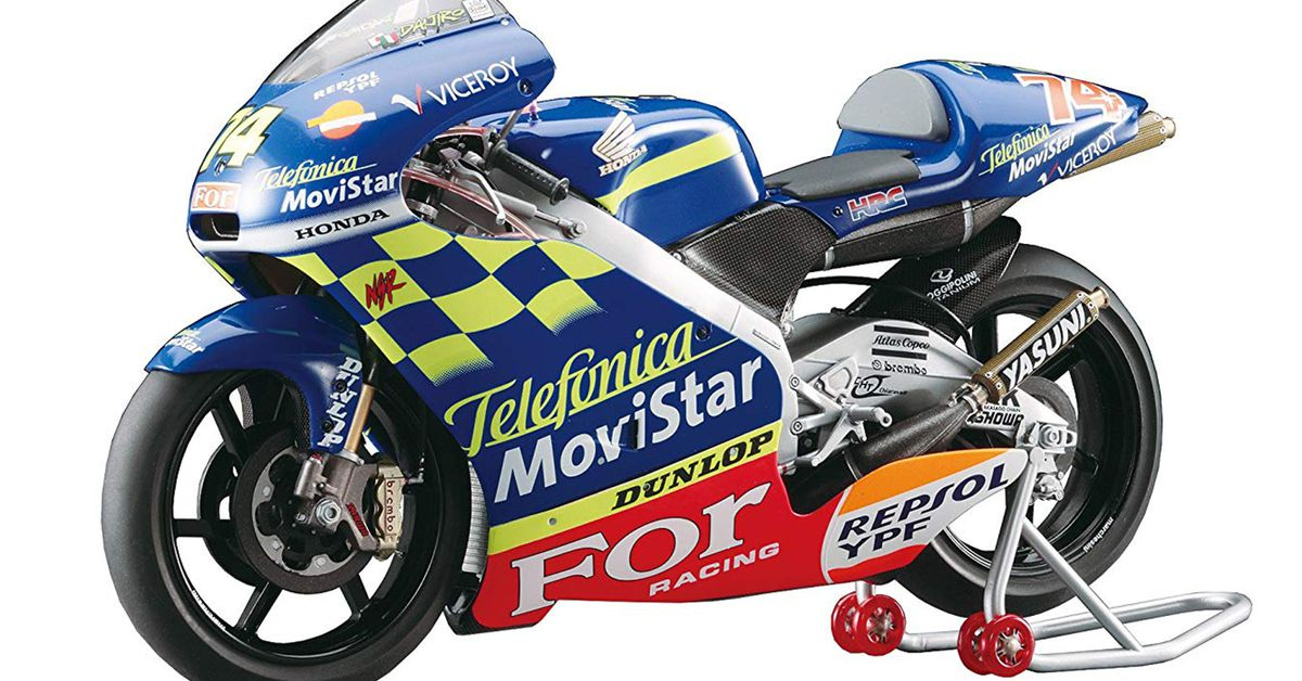 Motorcycle Model Kits You Can Assemble And Paint Yourself