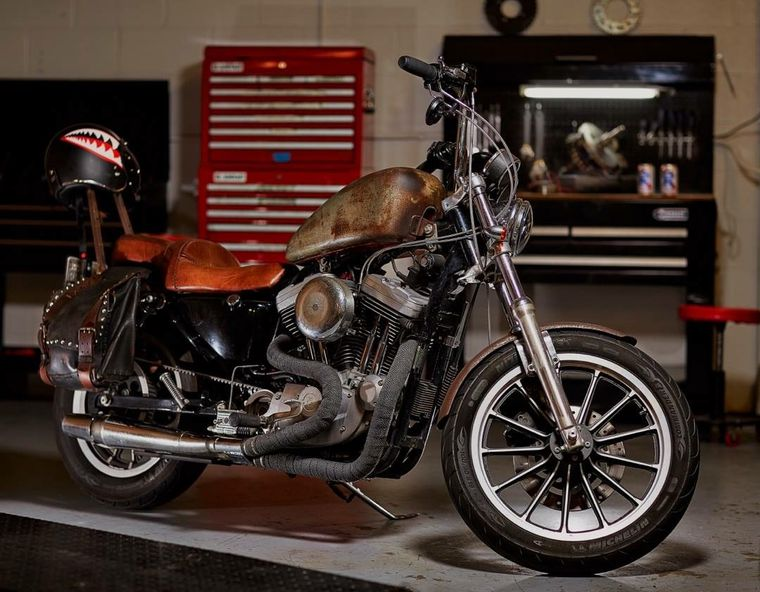 Here S What A 4 000 Harley Sportster 1200 And Elbow Grease Looks Like Cycle World