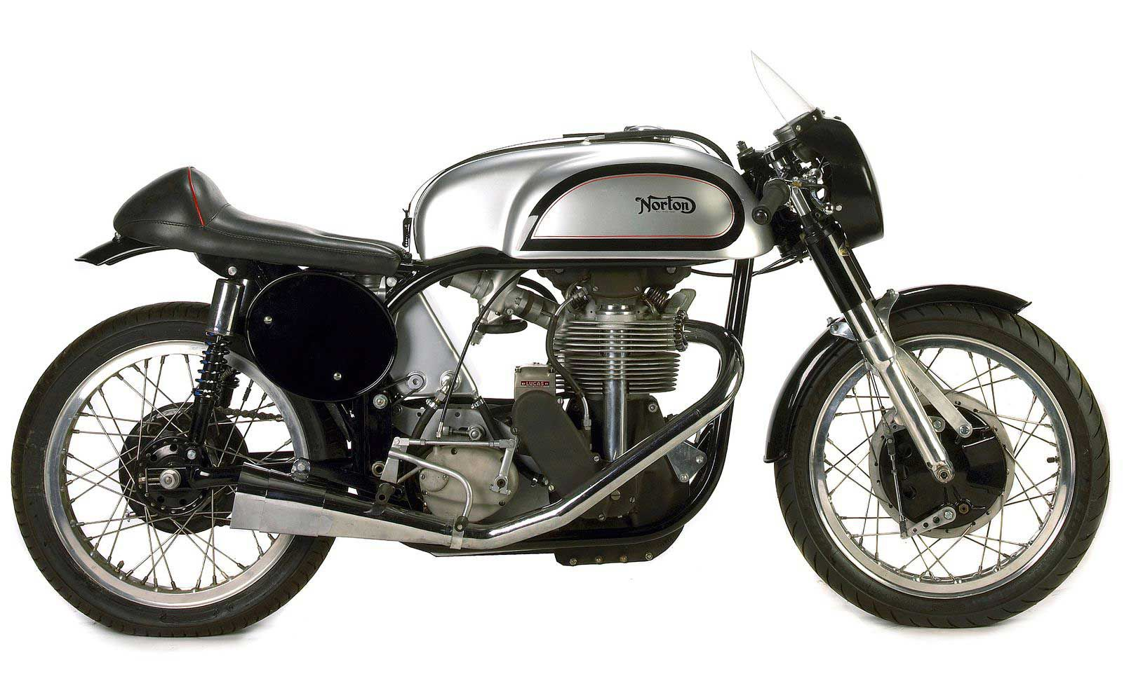 Norton continued selling the Manx single-cylinder production racer until 1963.